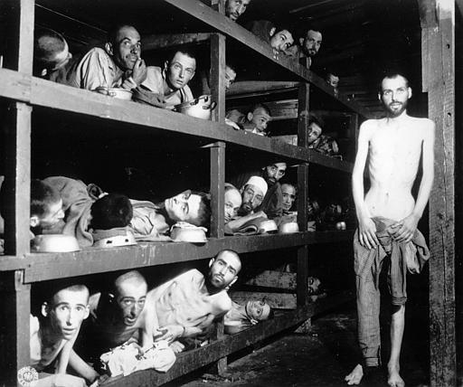 Fanger i tysk KZ-lejr