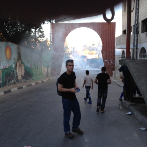 teargas