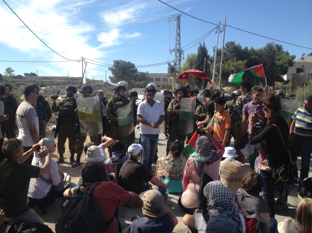 Demonstration in Al Ma'asara