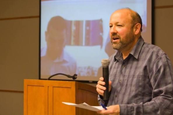 """""""Untold Stories"""" co-coordinator Mark Miller"""