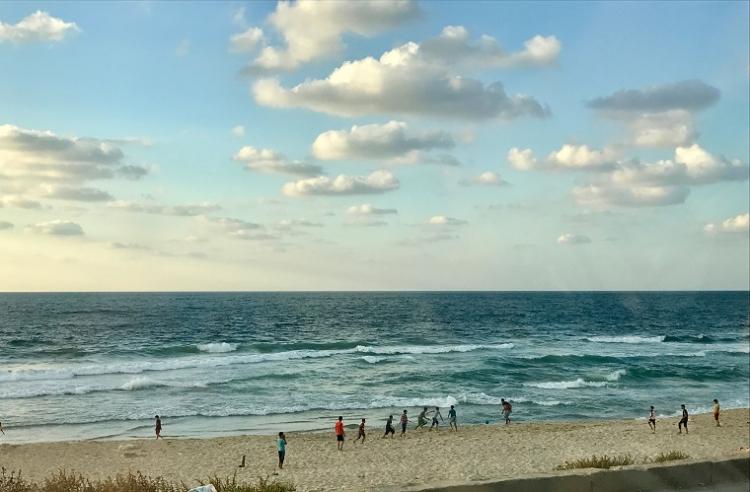 Gaza soccer on the beach_0